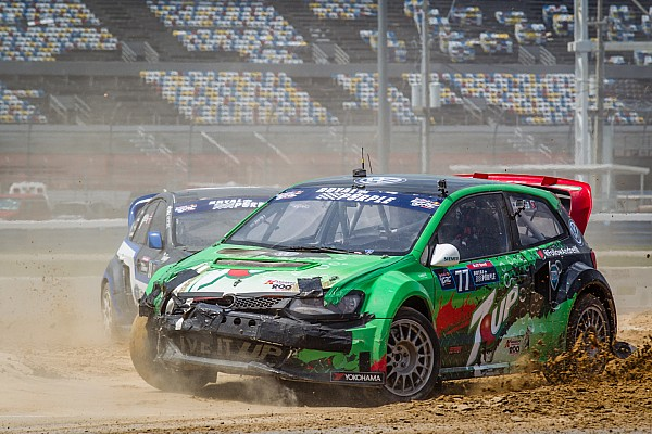 Red Bull Global Rallycross finale finds four drivers in the title hunt