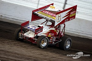 World of Outlaws Race report Brian Brown wins World of Outlaws season finale; Saldana seventh