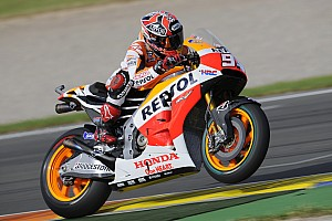 MotoGP Race report Record-breaking finish to 2014 for Marquez as he takes win number 13 at Valencia