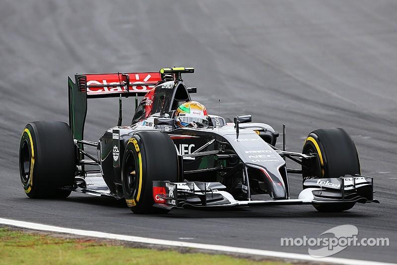 Both Sauber drivers struggle on a warmer track at Interlagos