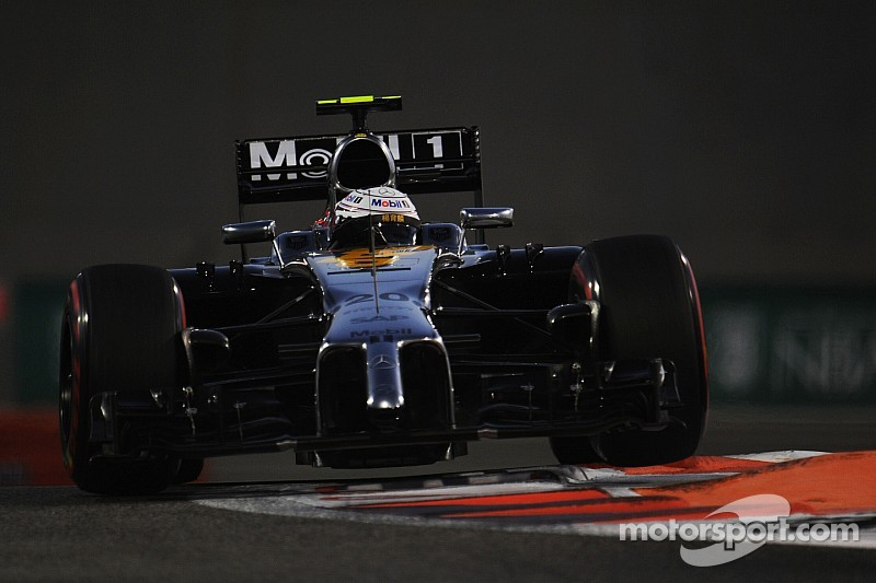 A busy Friday practice for McLaren in Abu Dhabi