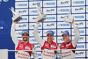 WEC Race report Emotional WEC finale for Audi at Interlagos