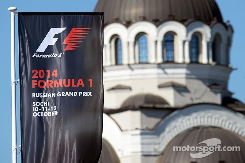 Russian Grand Prix wins race promoters trophy