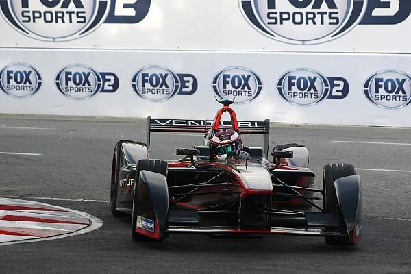 Sarrazin quickest in Formula E testing
