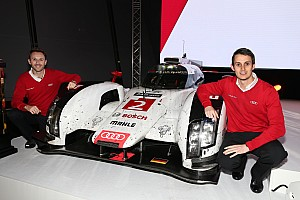 WEC Breaking news Jarvis to replace Kristensen in 2015 Audi LMP1 driver lineup