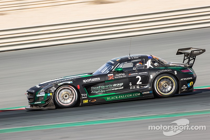 Team Black Falcon dominates the 2015 edition of the 24 Hours of  Dubai