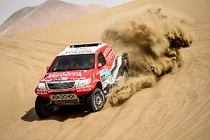 Dakar Stage report 2015 Dakar Rally: Stage 9 results