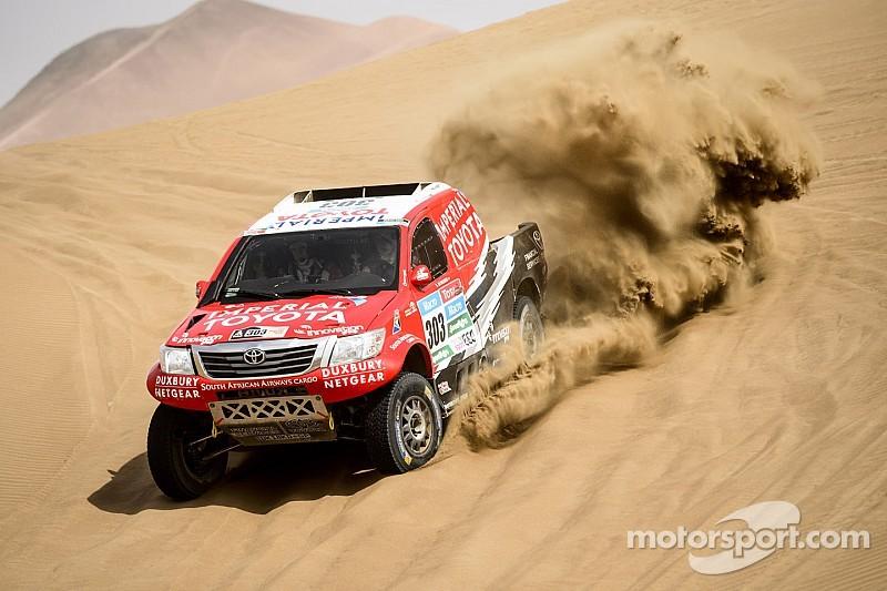 2015 Dakar Rally: Stage 9 results