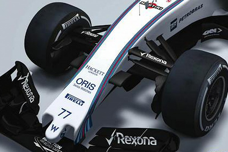 2015 Williams F1 car revealed