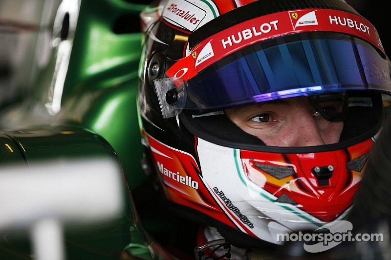 Trident Motorsport and Marciello together for the 2015 GP2 series