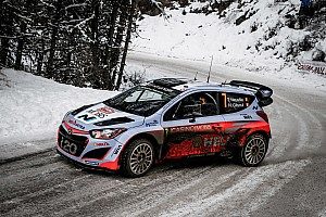 WRC Leg report Hyundai Motorsport aims for final flourish as both cars head into final day of Rallye Monte-Carlo