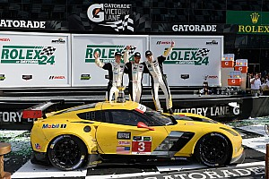 Rolex 24: Corvette Racing celebrates hard-fought LMGT victory