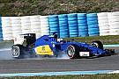 Sauber perform a successful roll-out program at Jerez