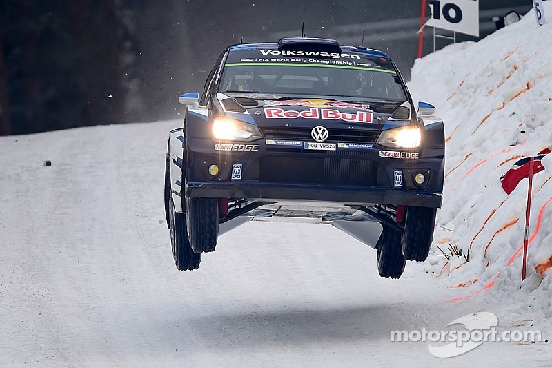 Ogier charge sets up final-stage shootout in Sweden
