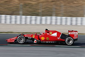 Ferrari: First day of testing at Barcelona