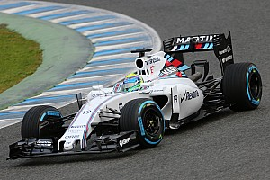 Massa has a productive day with his Williams at Barcelona
