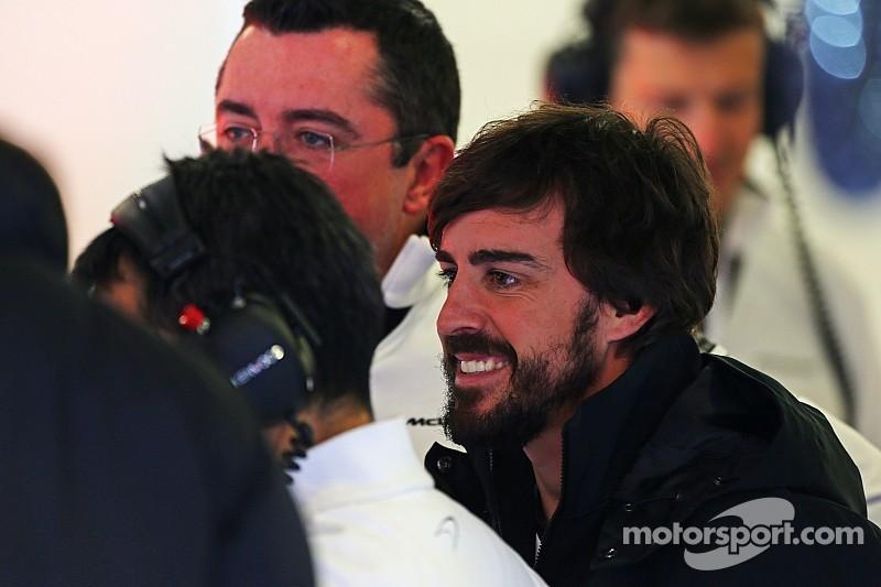 Alonso fuera del resto de la pretemporada