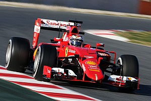 Formula 1 Testing report Ferrari happy to get its first race distance of the winter done today at Barcelona