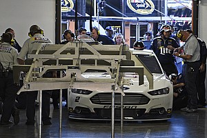 Keselowski crew caught in attempt to manipulate fenders around wheel wells