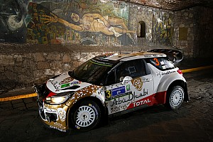 WRC Race report Mads Østberg and Jonas Andersson finished as runners-up at Rally Mexico