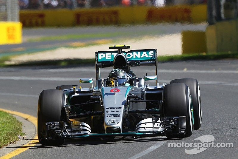 Mercedes kicked off the 2015 season at the top of the timesheets at Albert Park