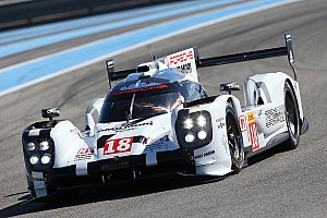 WEC Testing report Porsche 919 Hybrid leads again at Circuit Paul Ricard