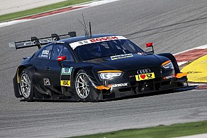 DTM Testing report Audi drivers impressed by RS 5 DTM
