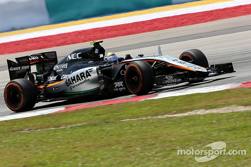 Force India sin puntos en Malasia