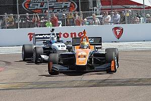 Indy Lights Race report Impressive debut for 8Star Motorsports in the Indy Lights rounds at St. Petersburg