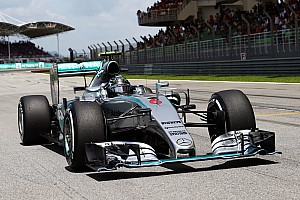 A diferent challenge for Mercedes at Shanghai