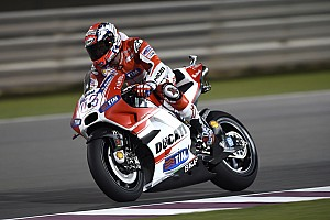 MotoGP Practice report Dovizioso leads the way in wet practice at Austin