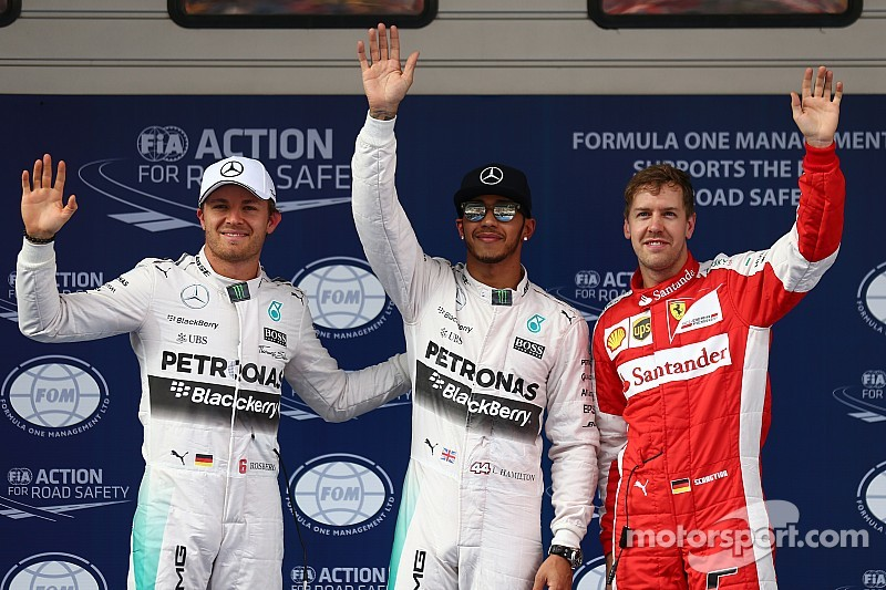 Sin problemas, Hamilton con la pole