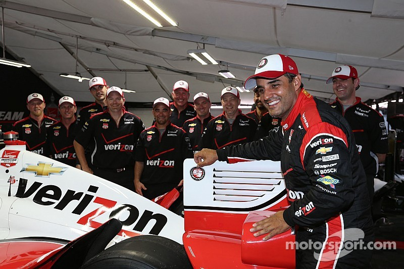 Montoya awarded NOLA pole as rain washes out qualifying