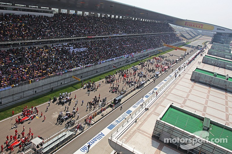 Organisers cast doubt over Chinese GP future