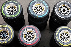 P Zero White Medium and Yellow Soft tyres for the first evening Grand Prix of the season at Bahrain