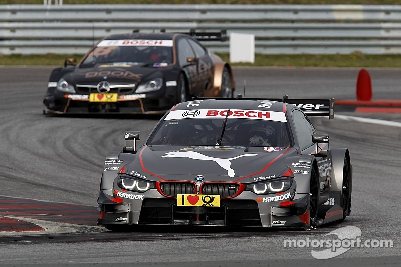 Blomqvist manda en el segundo día del DTM