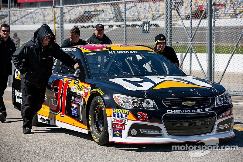 Richard Childress Racing's No. 31 team moves on