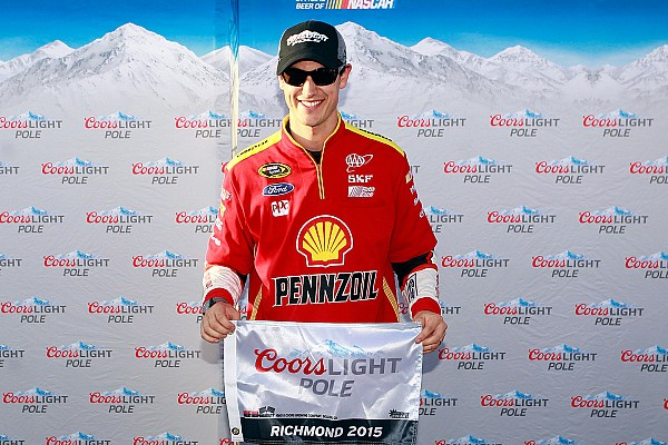 Joey Logano tops Sprint Cup qualifying at Richmond