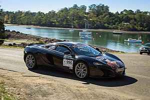 Quinn on top in Targa Tasmania