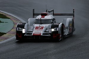 WEC Practice report Audi eclipses Porsche in final WEC practice
