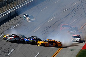 NASCAR XFINITY Race report Two crewmen injured on pit road during Talladega 'Big One'