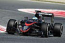 A busy day for the McLaren-Honda team at Circuit de Barcelona-Catalunya