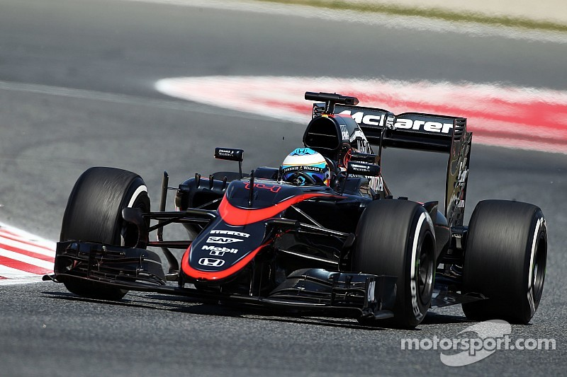 A busy day for the McLaren-Honda team at Circuit de Barcelona-Catalunya