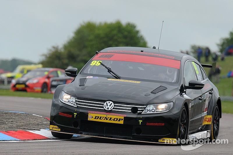 BMR teammates Plato and Smith lead practice at Thruxton