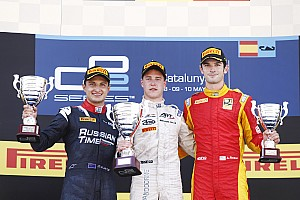 GP2 Race report Barcelona GP2: Vandoorne wins frantic Feature Race