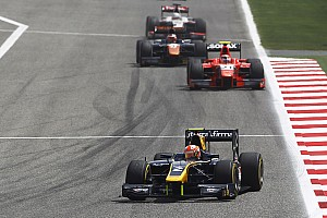 GP2 Race report Barcelona GP2: Lynn holds off Vandoorne in Race 2