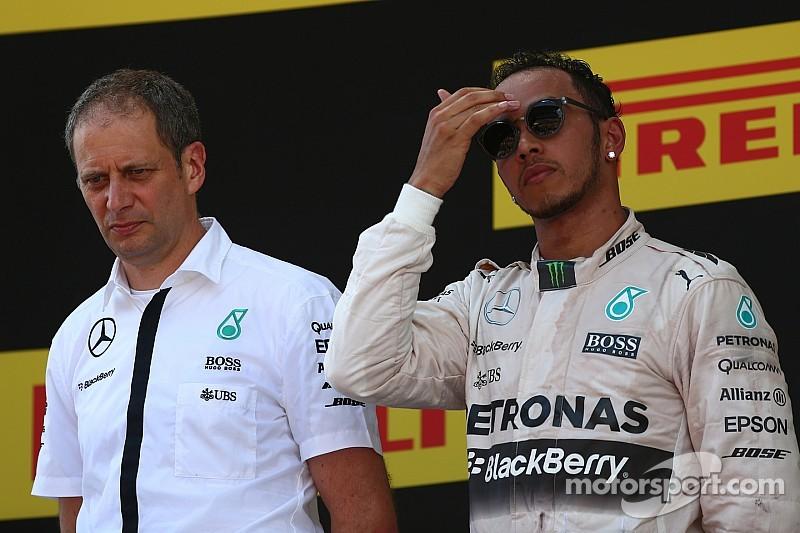 Hamilton ha vivido un fin de semana complicado