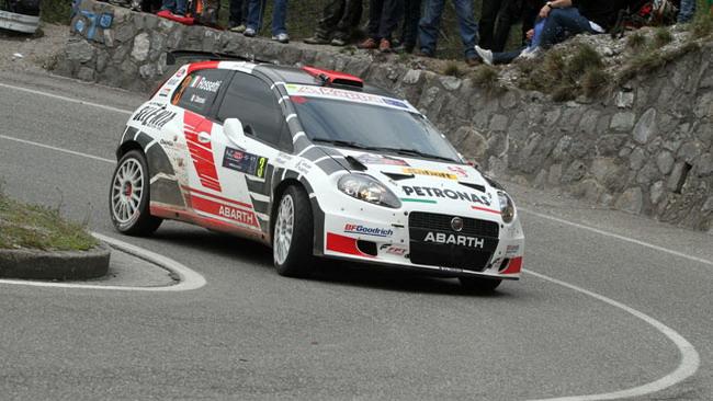 Rossetti al Croatia Rally sulla Grande Punto Procar