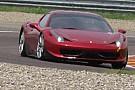Ferrari 458 laboratorio a Fiorano