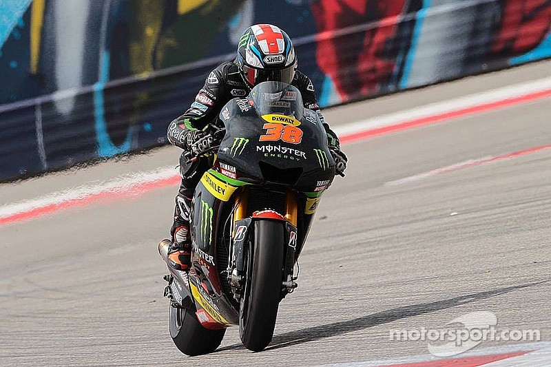 Smith grabs top practice time for Tech 3